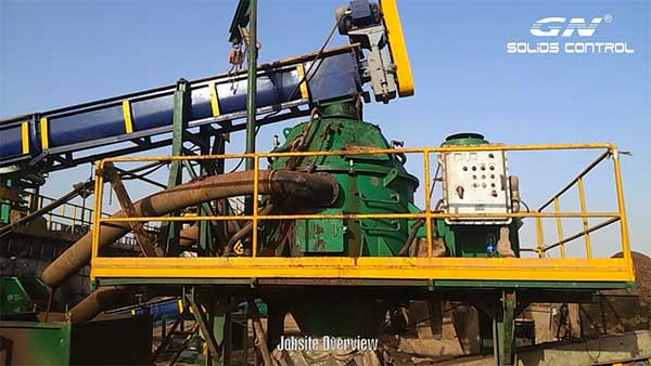 Video: GN Vertical Cuttings Dryer for OBM Working in Middle East